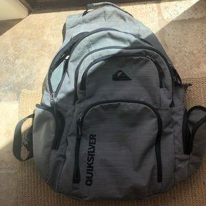 Quicksilver backpack grey